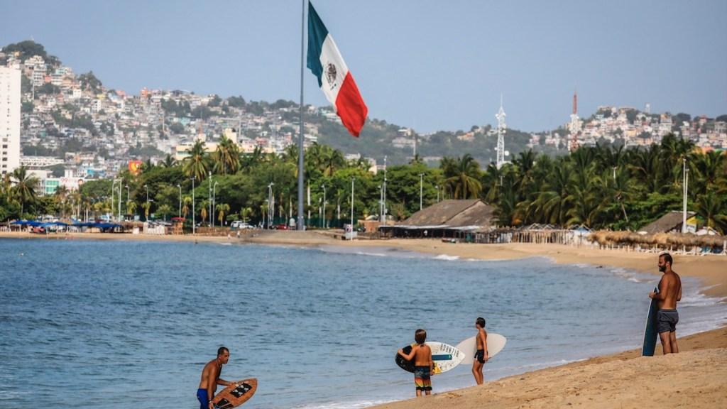 Durante septiembre, turismo internacional disminuyó 39.7 por ciento; aún no recupera niveles previos a la pandemia - Foto de EFE