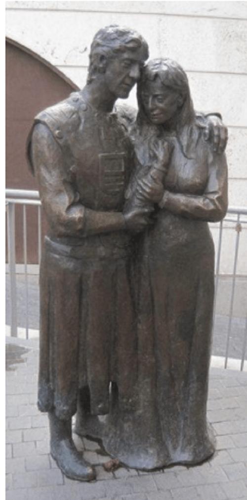 Los amantes de Teruel. Foto de magdabatik.com
