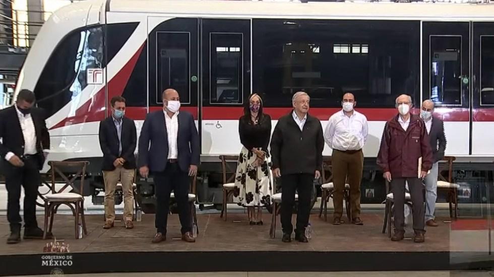 López Obrador y Enrique Alfaro pausan pleito por inauguración de tren - Foto de captura de pantalla