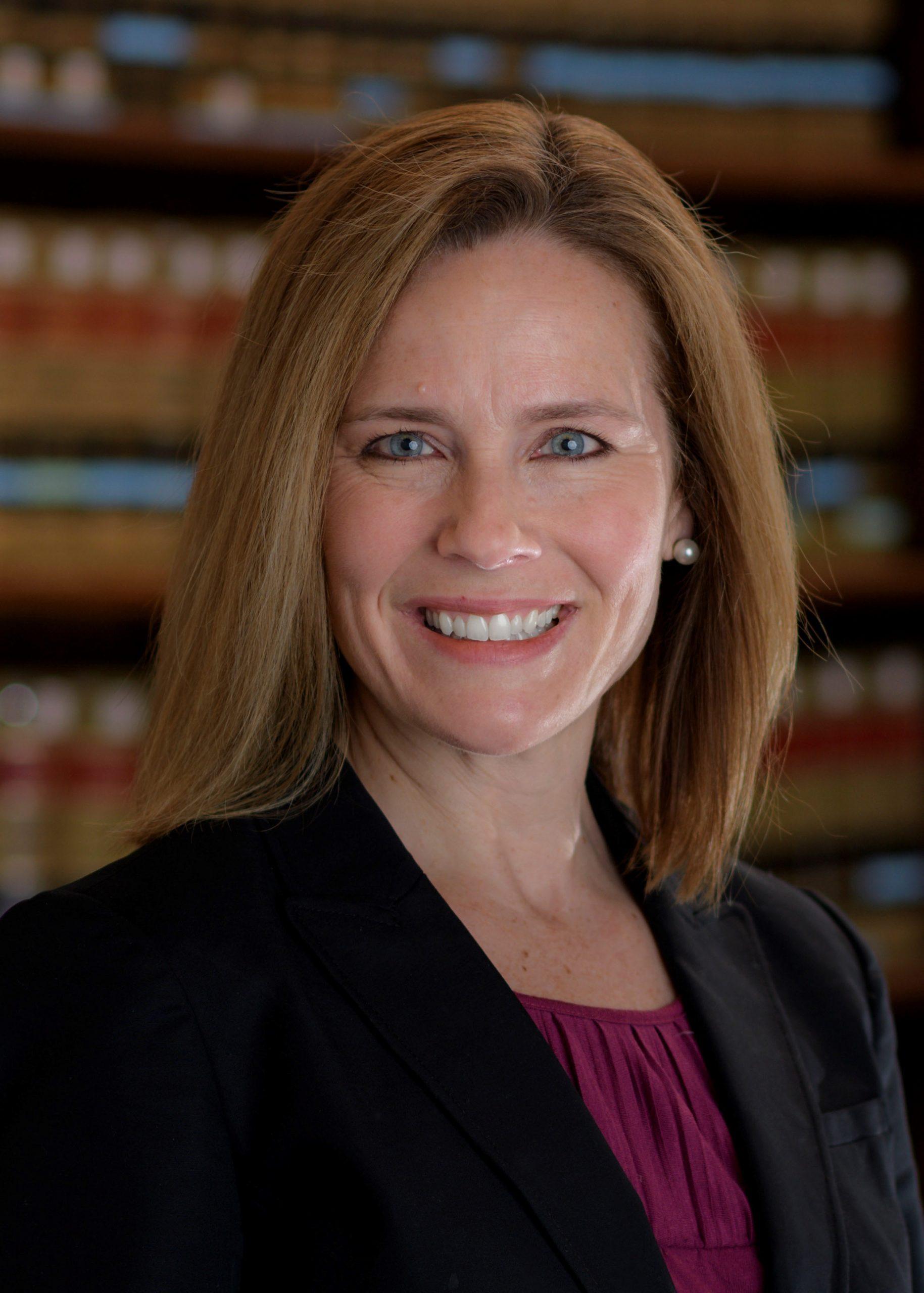 Amy Coney Barrett. Foto de EFE/EPA/JULIAN VELASCO.