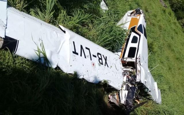 Se desploma aeronave en Durango; hay dos muertos - Foto de @InfoInfusionDgo