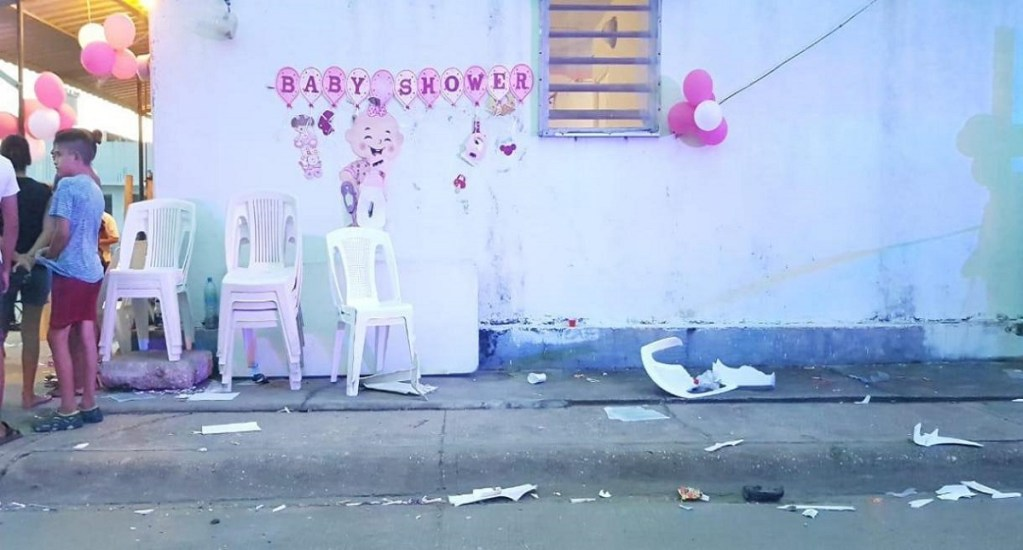 Atropellan a ocho durante 'Baby Shower' en Coatzacoalcos, Veracruz; detienen a conductor - Foto de Alor Noticias Coatzacoalcos.