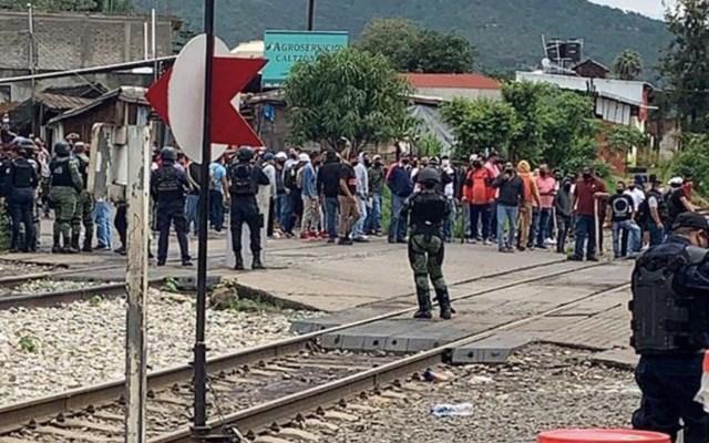 Por cada tren detenido en Michoacán tras bloqueos, se pierden entre 30 y 50 mdp - Foto de @LuluMontes1