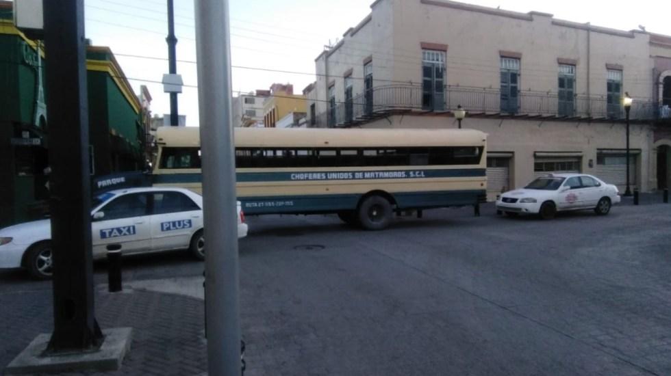 Reportan bloqueos en Matamoros, Tamaulipas; los atribuyen a 'El Vaquero', líder del Cártel del Golfo - Foto de @Tamaulipasrtc1