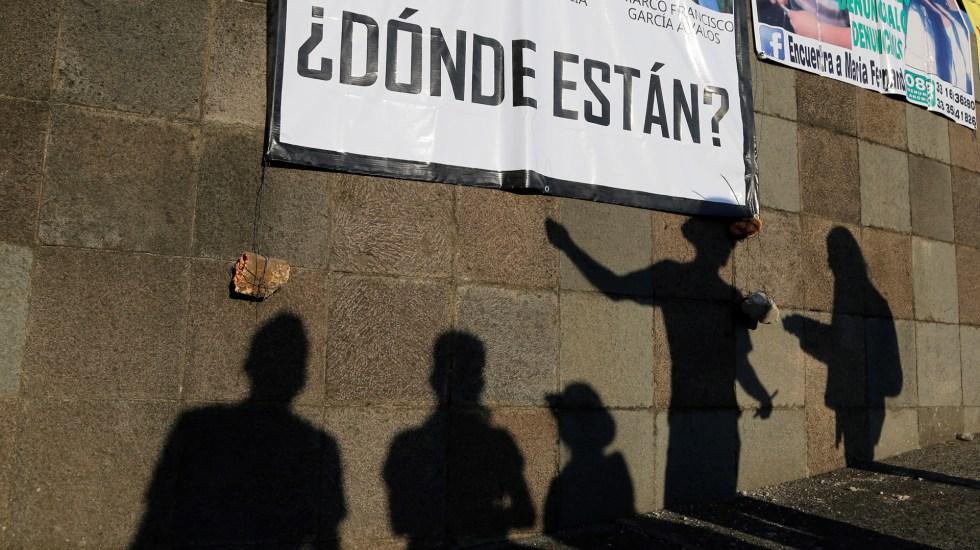CICR pide a México profundizar en la implementación de ley de desparecidos - Búsqueda de personas desaparecidas en México. Foto de EFE