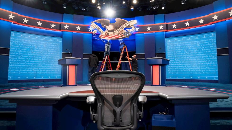 Donald Trump y Joe Biden celebran el primer debate presidencial en Cleveland, Ohio - Debate Presidencial Estados Unidos