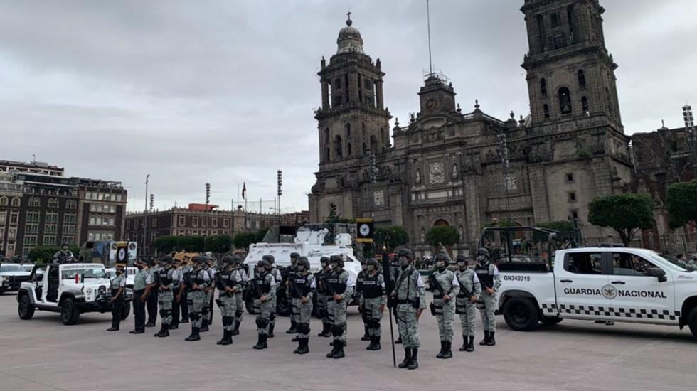 Fuerzas Armadas alistan participación en el Desfile Militar por el 210 Aniversario de la Independencia - Foto de Guardia Nacional