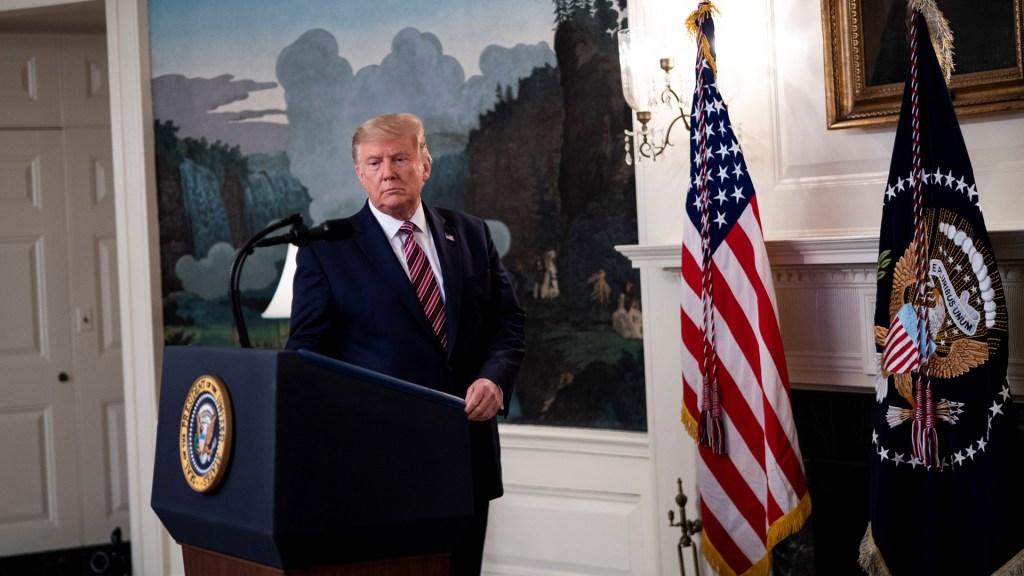 Administración Trump confiscó registros telefónicos de periodistas del NYT - Presidente Donald Trump. Foto de EFE
