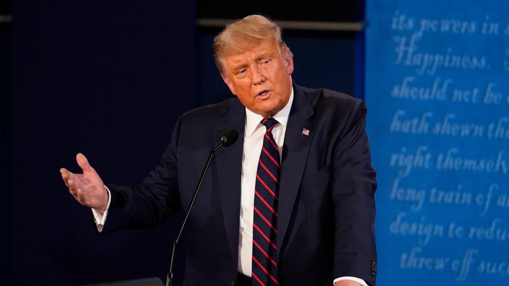 Claves de Donald Trump durante debate presidencial de EE.UU.. Noticias en tiempo real