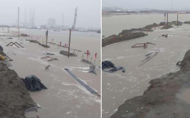 Fuertes lluvias inundan Dos Bocas; a la media hora se seca, afirma Rocío Nahle - Dos Bocas Tabasco inundado lluvias tormentas
