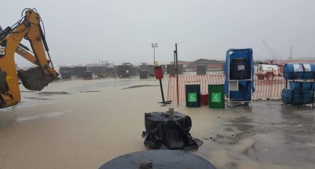 Fue un encharcamiento, asegura López Obrador sobre anegación en Dos Bocas - Dos Bocas Tabasco inundado lluvias tormentas