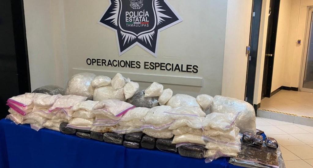 Grupo de Operaciones Especiales suma más de una tonelada de droga decomisada en Tamaulipas - Droga decomisada Tamaulipas GOPES Estados