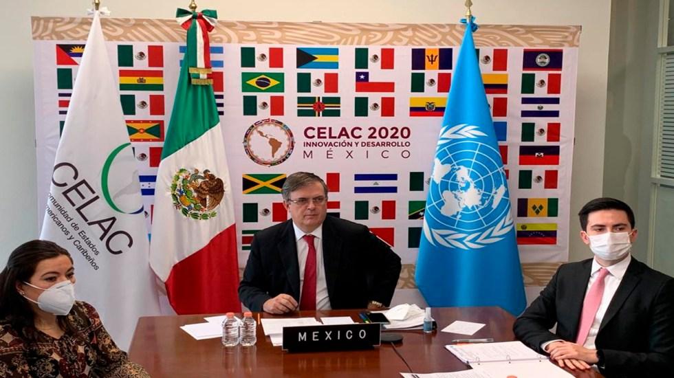 México mantendrá presidencia de Celac en 2021 - México mantendrá la Presidencia pro tempore de la Comunidad de Estados Latinoamericanos y Caribeños en el año 2021. Foto Relaciones Exteriores