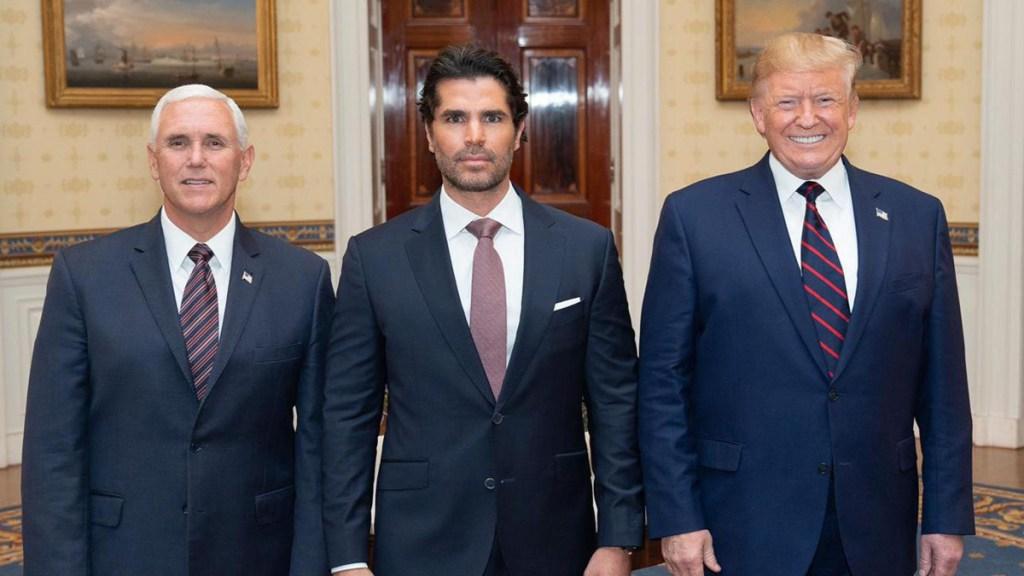 Es una oportunidad para construir desde dentro: Eduardo Verástegui sobre nombramiento en la Casa Blanca - Foto de Cortesía