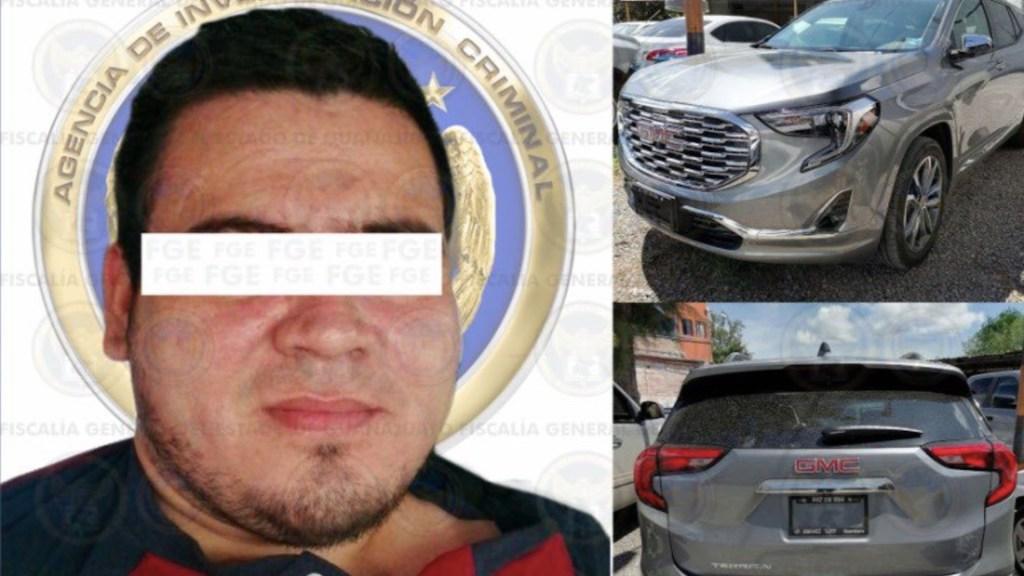 Detienen en Celaya a 'El Chinola', presunto jefe de sicarios del Cártel de Santa Rosa de Lima - Foto de Fiscalía de Guajauato