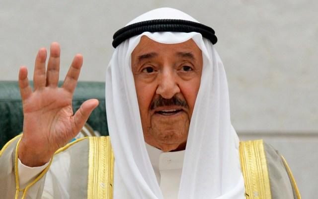 Muere el emir de Kuwait tras dos meses de tratamiento médico en EE.UU. - El emir de Kuwait, Sabah al Ahmad al Sabah. Foto de EFE