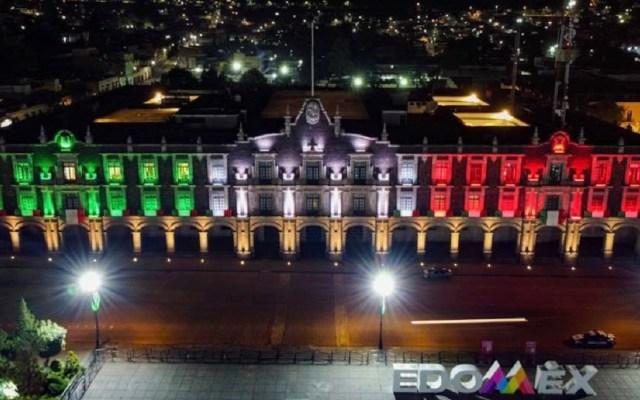 #EnVivo Ceremonia del Grito de Independencia, desde Toluca - Foto de Facebook/AlfredoDelMazoMx.