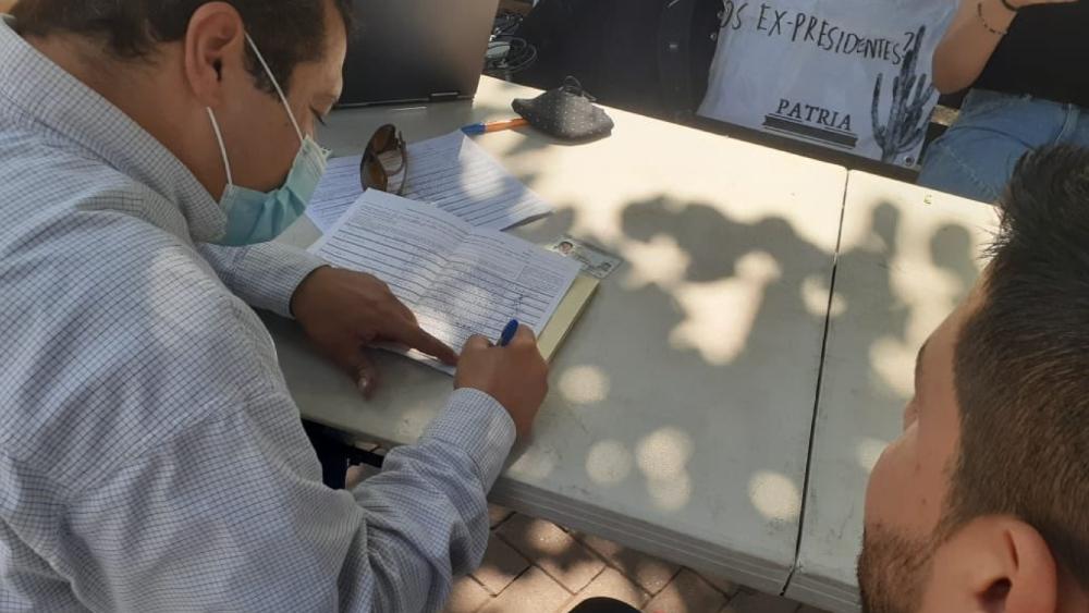 Partidos no podrán recabar firmas para revocación de mandato - Partidos no podrán recabar firmas para revocación de mandato. Foto de @JacoboMendozaR