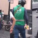 #Video Funcionario de la CDMX quita mercancía a niño y lo hace llorar