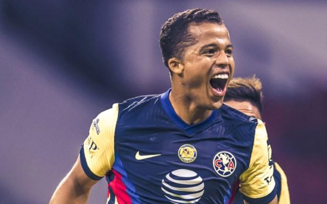 América se lleva el Clásico Nacional con golazo de Giovani dos Santos - Foto de @ClubAmerica