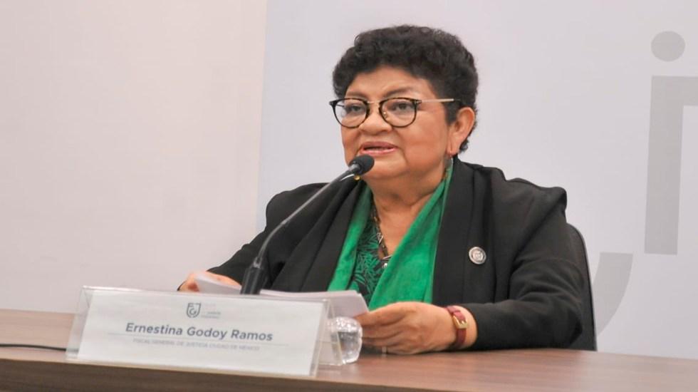 Inicia Fiscalía capitalina investigación contra funcionarios involucrados en caso de Cuauhtémoc Gutiérrez - Ernestina Godoy. Foto @FiscaliaCDMX