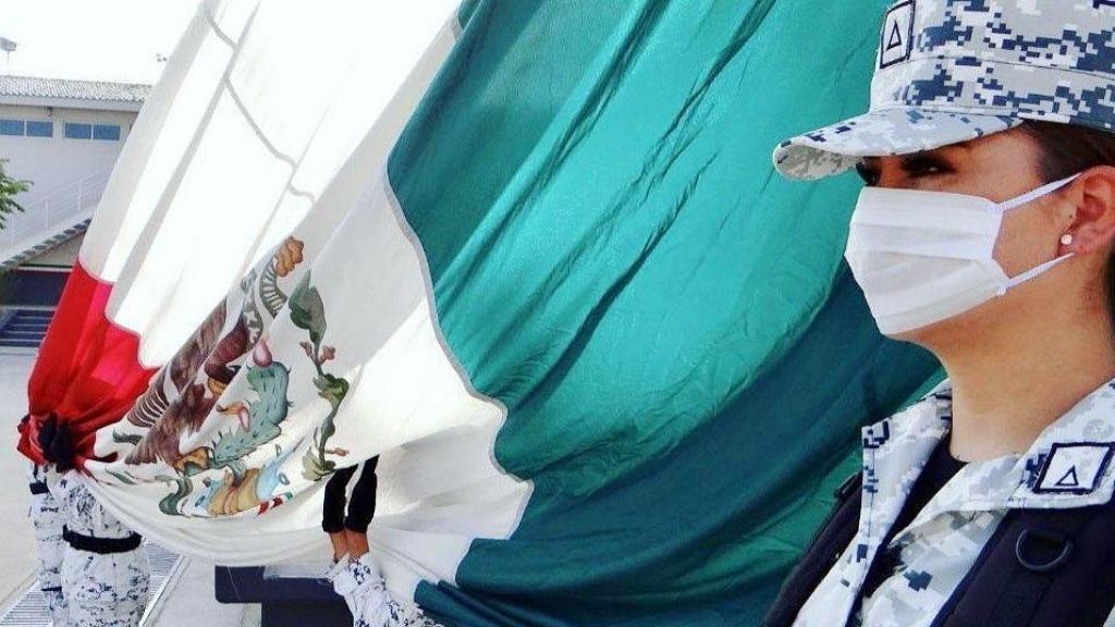 Fortalecerá Guardia Nacional cooperación con EE.UU. en materia de seguridad - Guardia Nacional Bandera México
