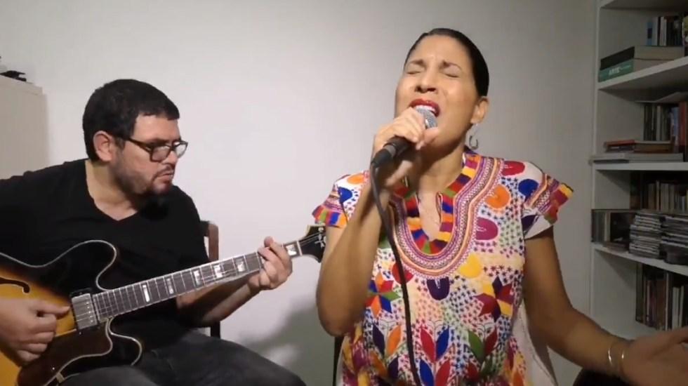 #Video Haydée Milanés interpreta 'Ámame como soy' - Haydeé Milanés cantante 010920201