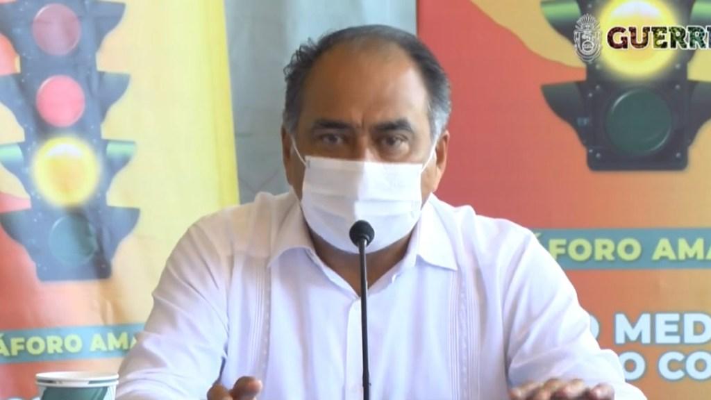 """Salida de gobernadores de la Conago """"es parte de la pandemia"""", considera Héctor Astudillo - Héctor Astudillo, gobernador de Guerrero. Captura de pantalla"""