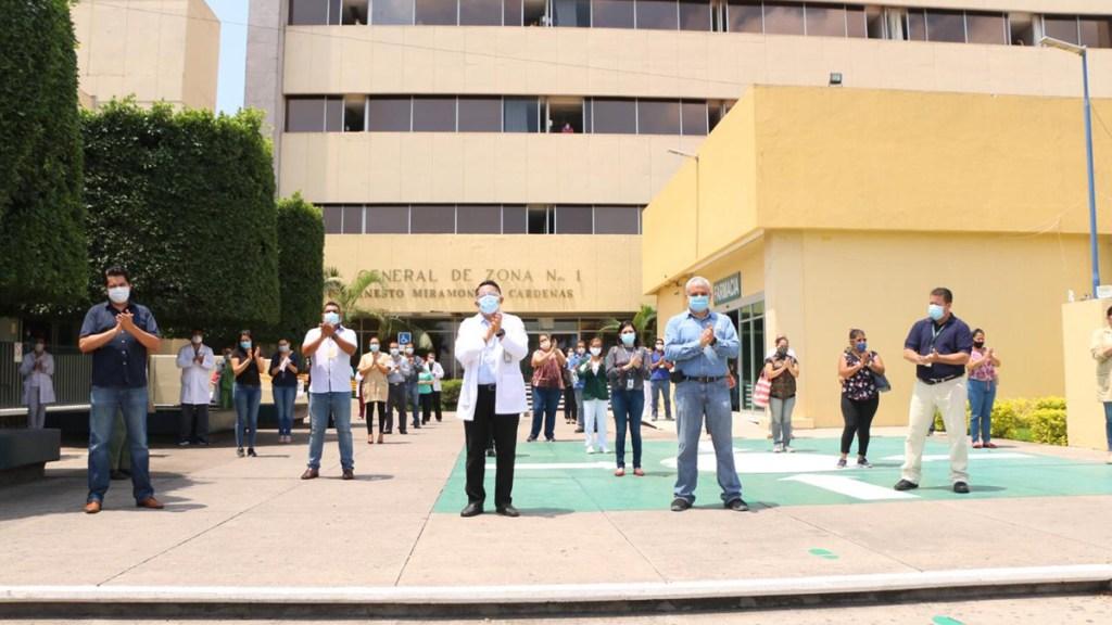 Ganan IMSS Edoméx, Michoacán y Nayarit en el Gran Sorteo de la Lotería Nacional - IMSS Nayarit. Foto de @Tu_IMSS