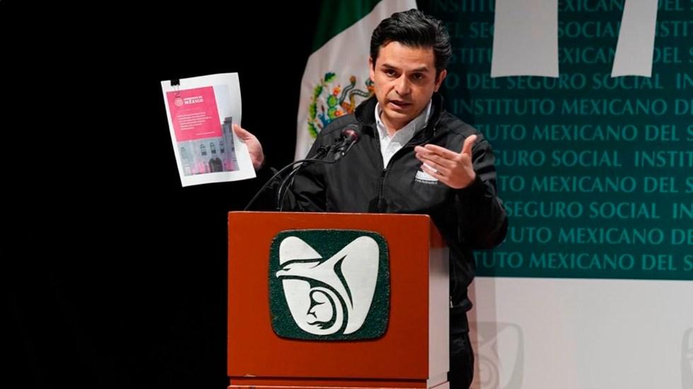 IMSS anuncia plan para reanudar servicios médicos suspendidos por COVID-19 - Zoé Robledo. Foto IMSS