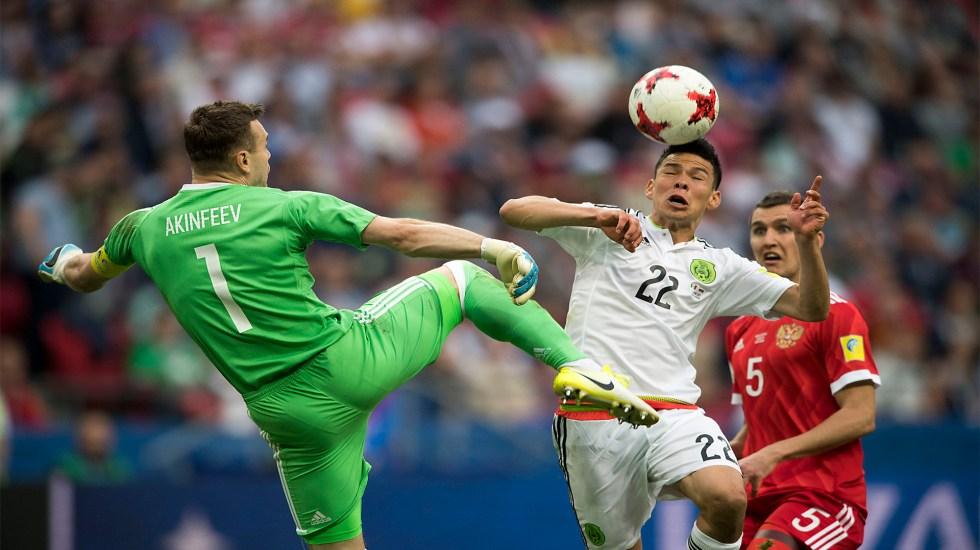 Argelia, actual campéon de África, el rival de México en próxima gira por Europa - Irving Lozano. Foto @miseleccionmx