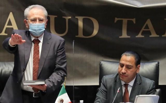 México saldrá de la pandemia con un sistema de Salud fortalecido, asegura Alcocer ante el Senado - Jorge Alcocer Secretario Salud comparecencia Senado
