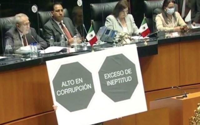 No hay desabasto de medicamentos oncológicos en la actualidad, aseguró Jorge Alcocer en comparecencia ante el Senado - Foto de Twitter Elisa Alanís