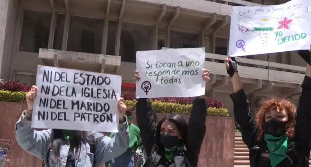 Feministas colombianas piden a la Corte despenalizar el aborto. Noticias en tiempo real