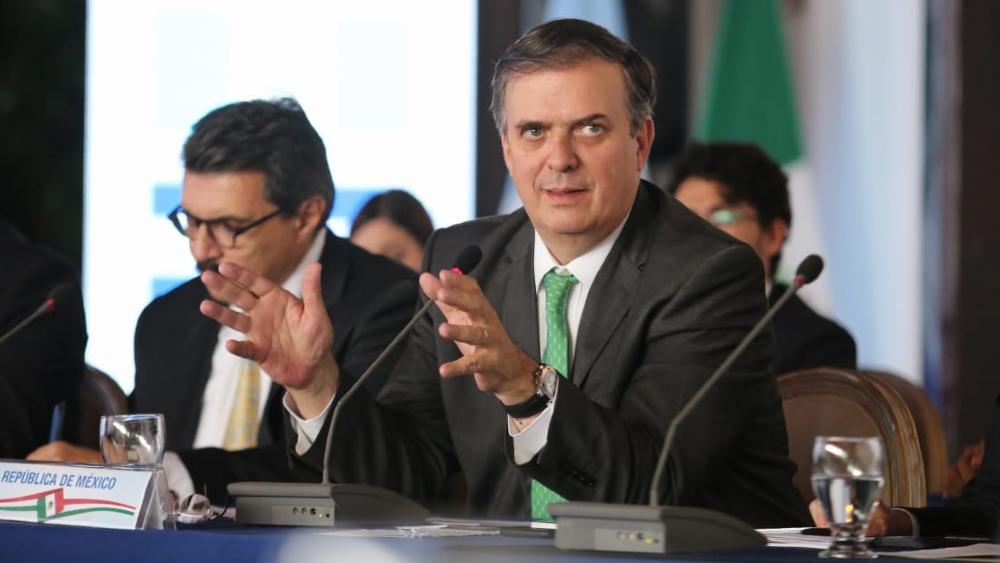 Marcelo Ebrard aborda migración con asesor de Seguridad de Biden - Foto de lopezobrador.org.mx