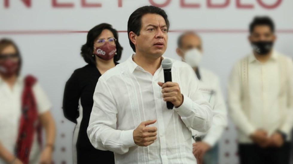 Pide Mario Delgado auditoría extraordinaria a grupo parlamentario de Morena - Foto de Mario Delgado