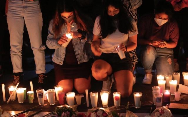 Cientos de mujeres protestaron en Morelia, tras el descubrimiento del cuerpo de Jessica González Villaseñor - Foto de EFE