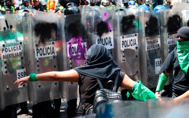 Tensión entre gobierno y feministas mexicanas tras últimas manifestaciones - Foto de EFE