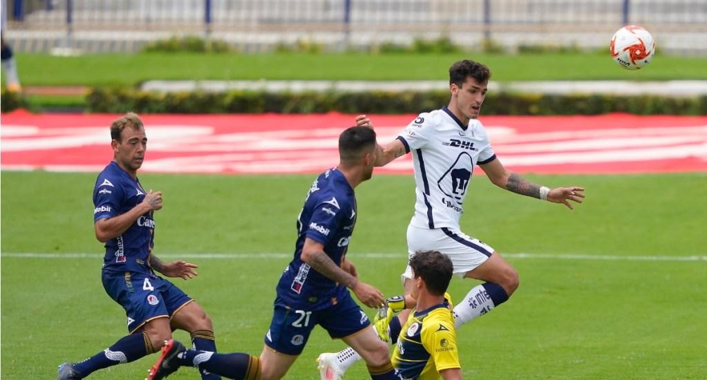 Pumas golea al San Luis; mantiene invicto y liderazgo en el Guardianes 2020 - Pumas partido Atlético de San Luis 13092020