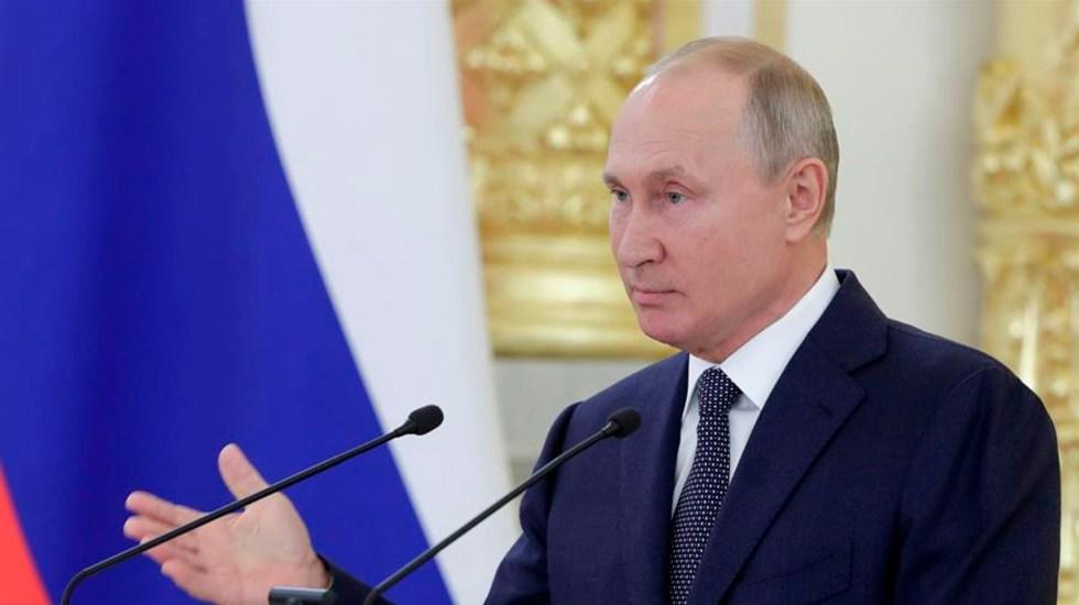 Ensayos de vacuna contra COVID-19 de Rusia han mostrado resultados cuestionables - El presidente ruso, Vladímir Putin. Foto EFE