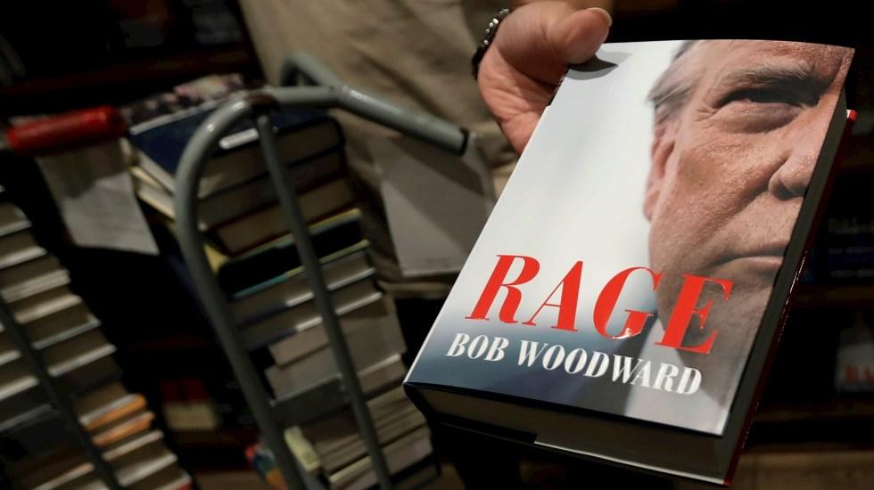 """El polémico libro sobre Trump sale a la venta; el presidente lo tacha de """"aburrido"""" - Rage Bob Woodward Estados Unidos"""