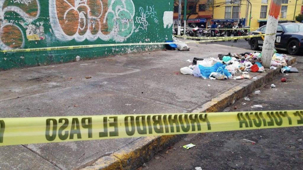 Localizan en la colonia Doctores restos de feto en bolsa de basura - Foto de @AdriCalao