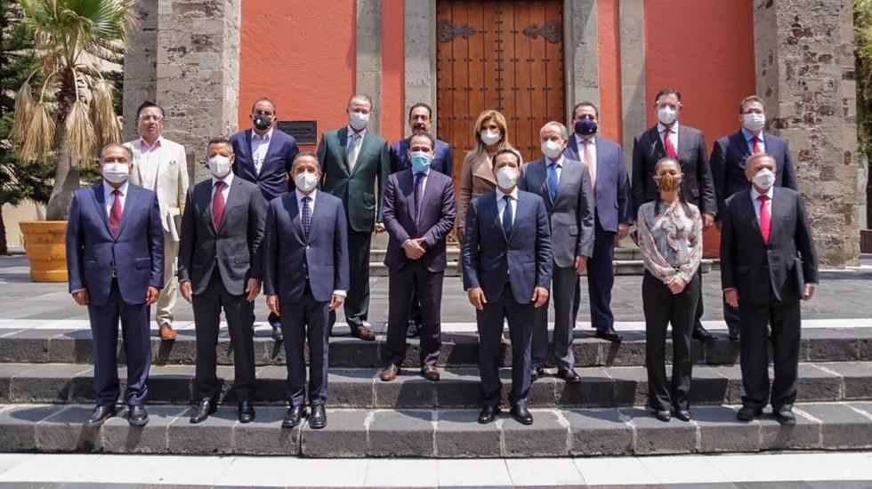 Arturo Herrera y gobernadores acuerdan impulsar reactivación económica con fianzas sanas - Reunión entre la SHCP y gobernadores. Foto de @ArturoHerrera_G
