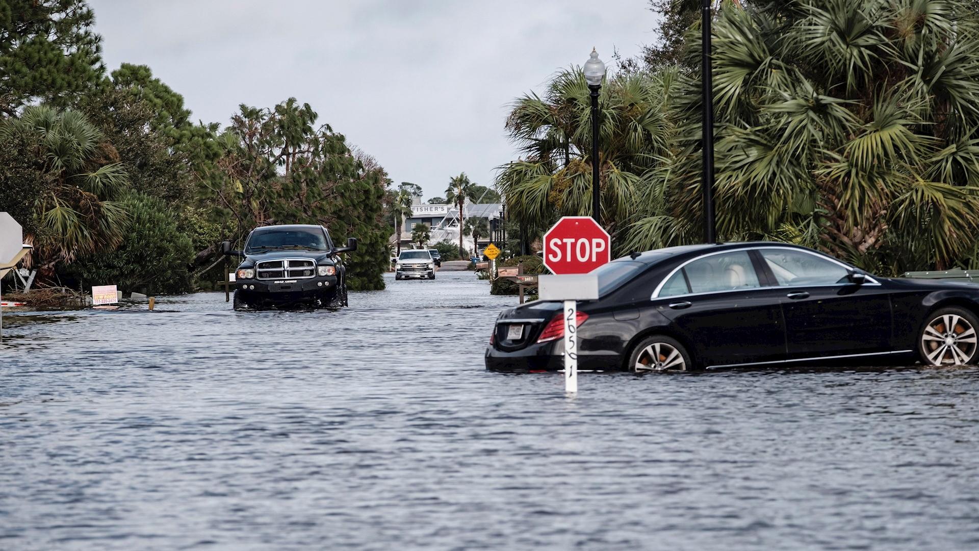 Sally Daños Alabama tormenta