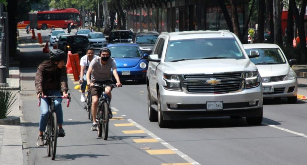 Regresa membresía semestral de Ecobici por Día Mundial Sin Auto - Semovi Insurgentes Ciclovía bicicletas