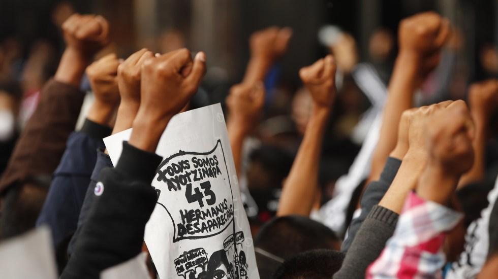 CNDH critica su propio informe del Caso Ayotzinapa - Este 26 de septiembre se cumplen seis años de la 'noche de Iguala' en la que desaparecieron 43 estudiantes de la Escuela Normal Rural Isidro Burgos de Ayotzinapa, en Guerrero. Foto de EFE