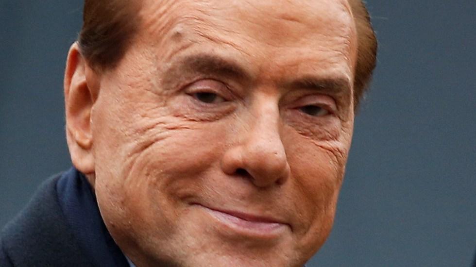 Berlusconi, en estado delicado de salud tras dar positivo a COVID-19 - Silvio Berlusconi. Foto de EFE