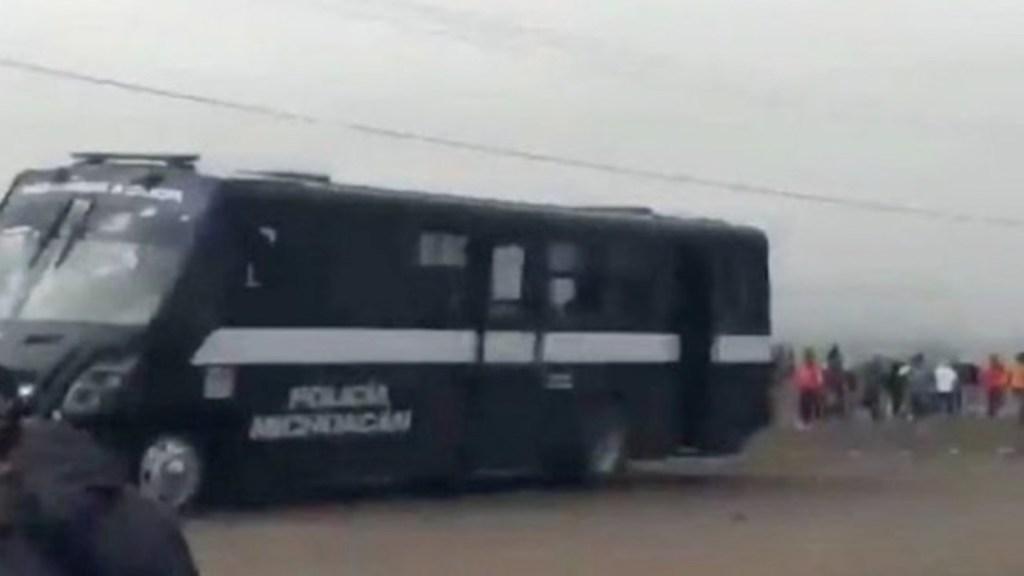Aumenta a 11 el número de policías heridos tras enfrentamiento en Tiripetío, Michoacán - Captura de pantalla