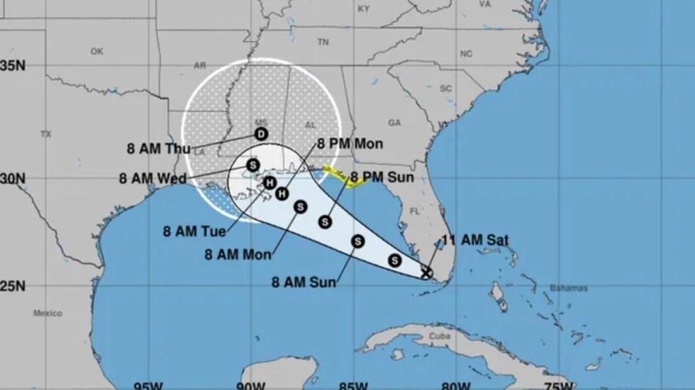 Se forma la tormenta tropical Sally; se intensificará a huracán y podría impactar Nueva Orleans - Foto de NOAA