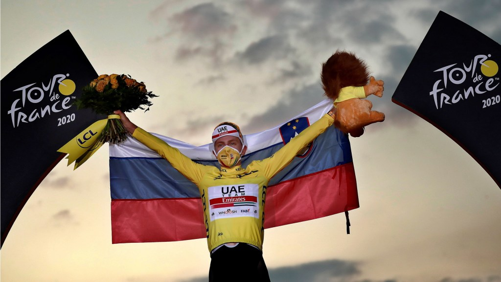 Tadej Pogacar se convierte en el primer esloveno en ganar el Tour de Francia - Tour de France Pogacar carreta ciclismo 2